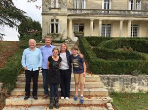 Rick Stein at Chateau Bauduc